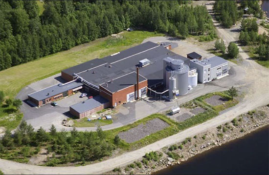 Biogas plant of Boden